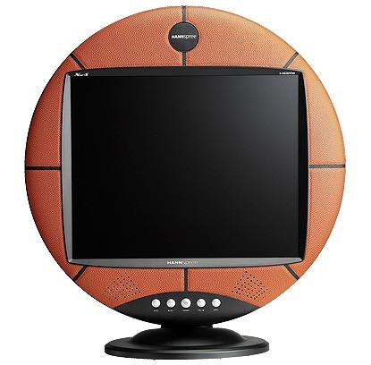 "Hannspree Basketball TV 15"" LCD TV/Monitor"